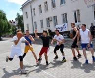 街道篮球tournament_8 免版税库存图片