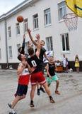 街道篮球tournament_10 库存图片