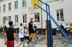 街道篮球tournament_9 库存图片