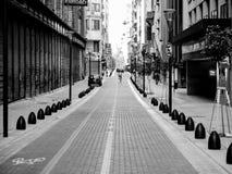 街道自行车远航 图库摄影