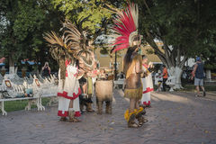 街道舞蹈家在巴里阿多里德市 图库摄影
