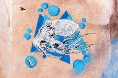街道艺术在巴勒莫 免版税图库摄影