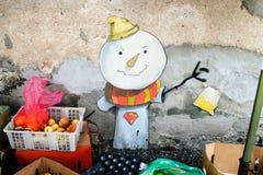 街道艺术在槟榔岛 库存照片