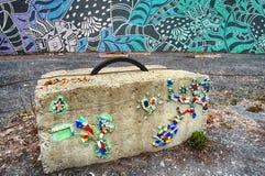 街道艺术在蒙特利尔 免版税库存照片