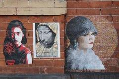 街道艺术在更低的东边在曼哈顿 库存图片