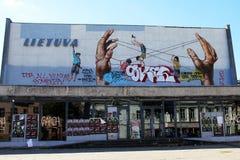 街道艺术在维尔纽斯 库存图片