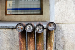 街道艺术在维尔纽斯 免版税图库摄影