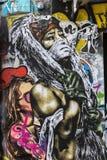 街道艺术在巴黎,法国 库存图片
