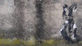 街道艺术墙壁 免版税图库摄影