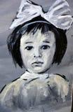 街道艺术孩子 库存照片