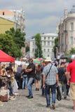 街道艺术家和艺术家 免版税图库摄影