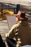 街道艺术家画家 免版税库存图片