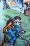 街道艺术标注器 图库摄影