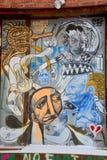 街道艺术蒙特利尔外籍人 免版税库存照片