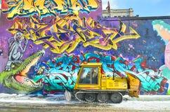 街道艺术蒙特利尔 图库摄影