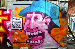 街道艺术蒙特利尔 库存照片