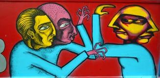 街道艺术蒙特利尔 免版税库存图片