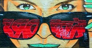 街道艺术蒙特利尔 免版税图库摄影