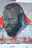 街道艺术蒙特利尔T先生 免版税库存图片