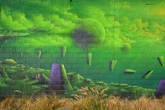 街道艺术行星 图库摄影