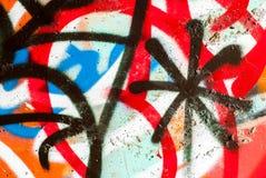 街道艺术- graffti 库存照片