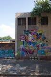 街道街道画,约翰内斯堡 免版税库存照片