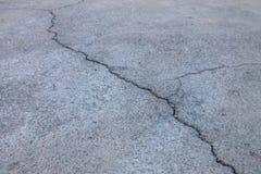 街道裂缝  免版税图库摄影