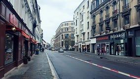 街道视图在法国 免版税库存图片