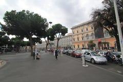 街道视图在罗马,意大利 免版税图库摄影