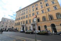 街道视图在罗马,意大利 库存图片