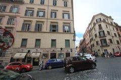 街道视图在罗马,意大利 免版税库存照片