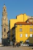 街道视图在老镇。波尔图。葡萄牙 免版税库存照片
