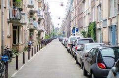 街道视图 免版税库存图片