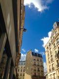 巴黎街道视图 免版税库存图片