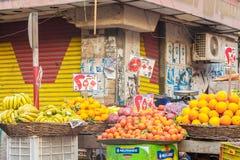 街道贸易在开罗 免版税库存图片