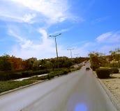 街道都市视图 库存图片