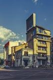 街道都市视图 免版税库存照片