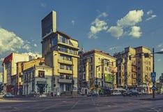 街道都市视图 库存照片