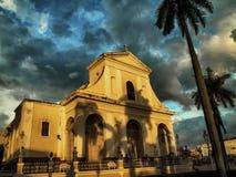 街道镇特立尼达,古巴 库存图片