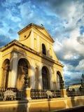 街道镇特立尼达,古巴 免版税库存照片