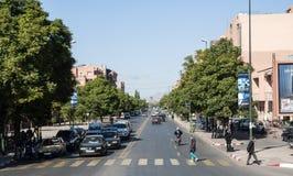 街道风景在马拉喀什 库存图片