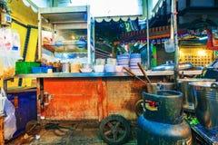 街道食品厂家 库存图片