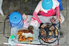 街道食物。 免版税图库摄影