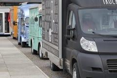街道食物卡车 图库摄影