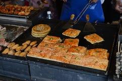 街道食物在中国 免版税库存照片