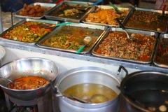 街道食物在亚洲 免版税库存照片