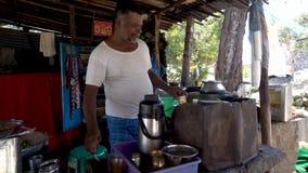 街道食物在印度 影视素材