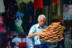 街道食物在土耳其 免版税库存照片