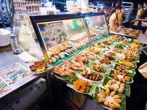 街道食物在新加坡 图库摄影