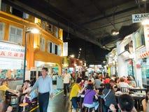 街道食物在新加坡 免版税库存照片